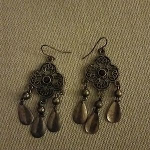 Vintage inspired dangle earrings
